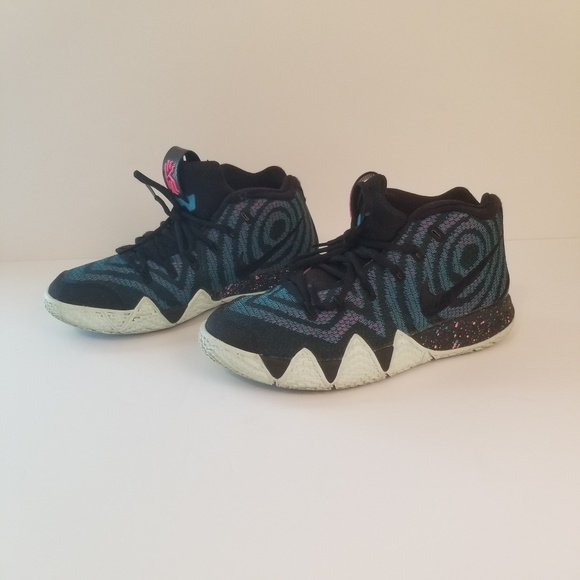 huge discount 6b045 371df Nike Kyrie 4 is 80s decades pack black laser